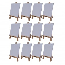 """Roger & Moris Mini 'A' Easel 10"""" with Canvas 7"""" x 7"""" (Set of 12)"""
